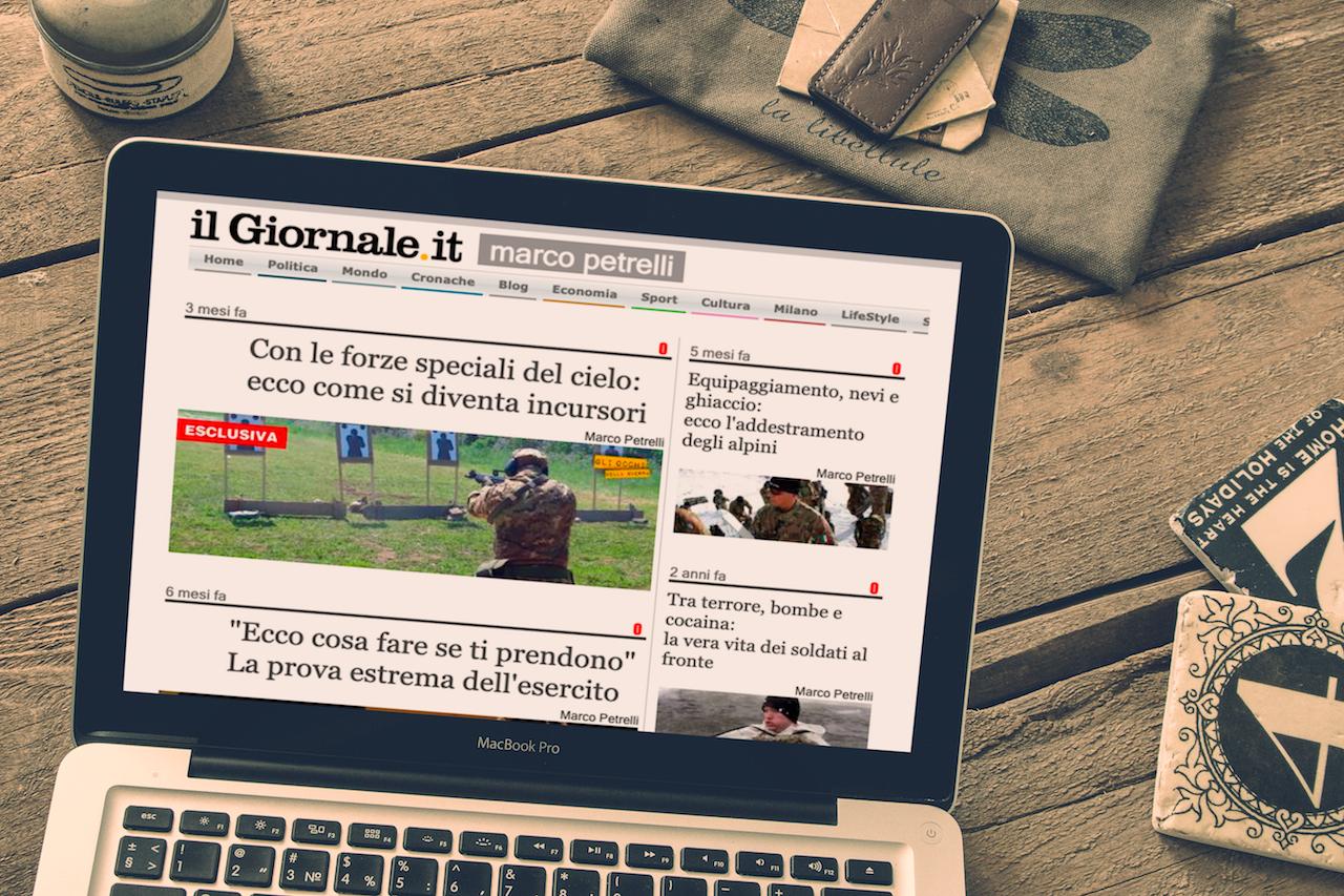 Contributi per Il Giornale, Marco Petrelli
